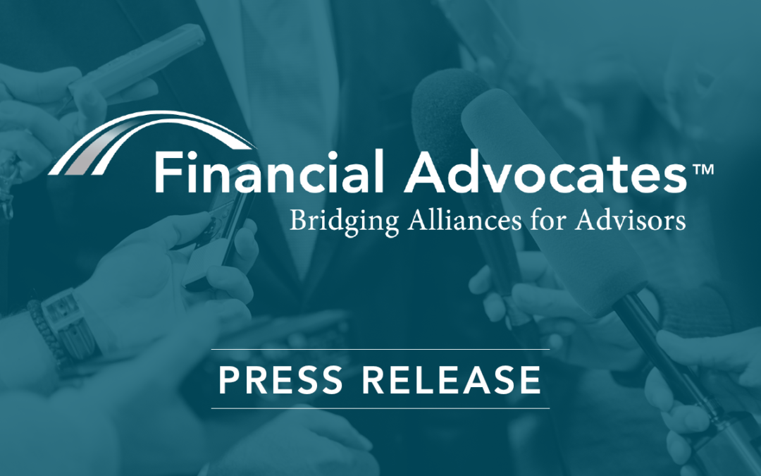 Financial Advocates Expands Footprint and Welcomes New Advisors Following LPL's Acquisition of Waddell & Reed