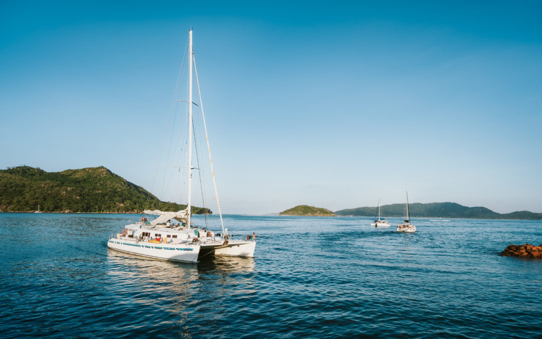 Cracking the Code in Financial Services From a Catamaran